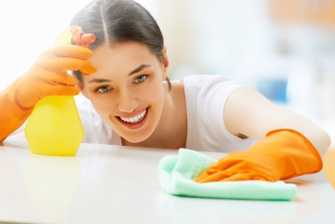 Shifting towards green cleaning products