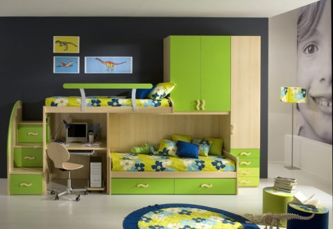 The Perfect Children's Bedroom Decor Picture