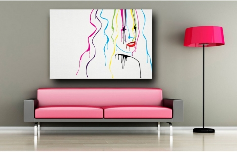 Decorate your house in a modern way with wall art