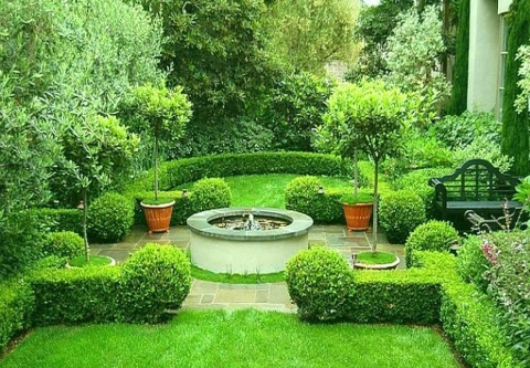 Minimalist Lawn Landscaping Ideas Picture