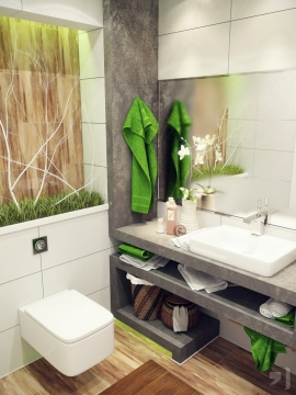 Smart Tips on How to Decorate a Small Bathroom Picture