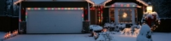 Decorating your house for Christmas