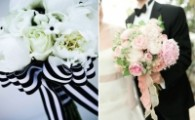 Personalise your flower arrangements with ribbon