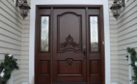 Three front doors that will make your house look majestic